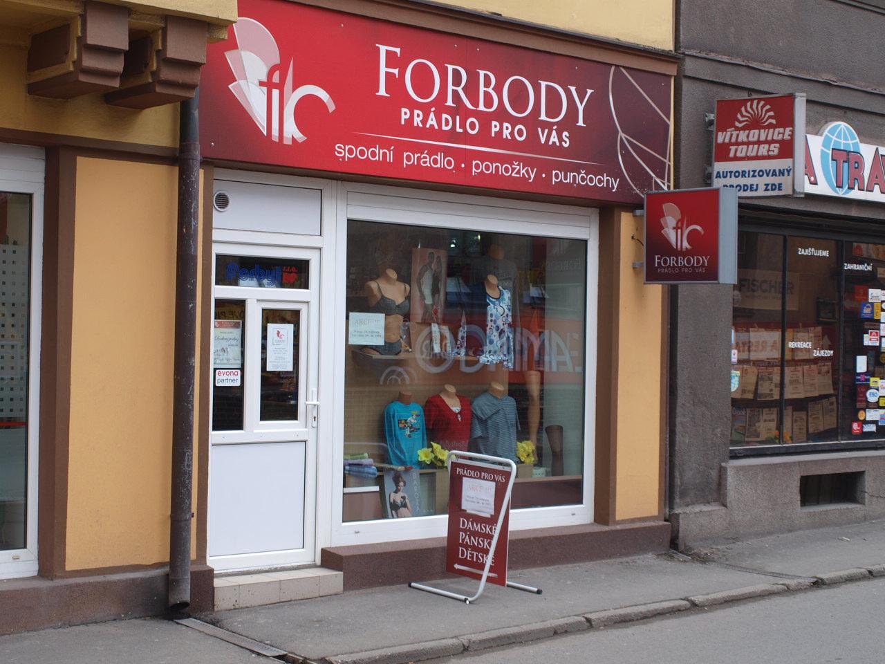 Prodejna FORBODY
